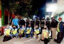 Cegah Balapan Liar, Bhabinkamtibmas Polres Bontang dan FKPM Laksanakan Patroli Bersama