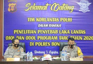 Korlantas Polri Kunjungi Polres Bontang, Gelar Penelitian Dan FGD Penyebab Pelanggaran Dan Laka Lantas