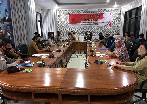 Satgas Saber Pungli Kota Bontang, Sosialisasi ke Dinas PM dan PTSP