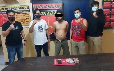 Berantas Narkoba Di Marangkayu, Polisi Tangkap Warga Samarinda