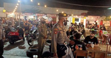 Malam Minggu , Polres Bontang Bersama Satpol PP Terus Menggelar Patroli Gabungan  KRYD
